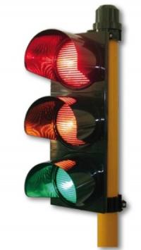 Светофар червен/жълт/зелен 300 мм