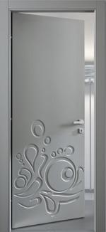 интериорни врати с различни видове фрезоване приятни