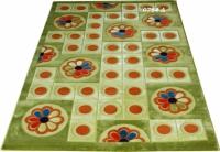Машинни килими на цветя с размери 150х233см