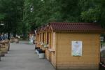 дървен търговски павилион до 9 кв.м по поръчка