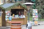 изработване на дървен павилион за продажба  до 9кв.м