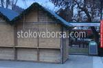 изграждане на павилион за продажба до 4 кв.м от дърво