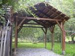 дървени навеси 14-3210
