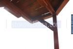 Изработка на дървен навес по поръчка