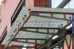 изработване на стъклени навеси по поръчка