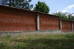 огради от тухли зидани