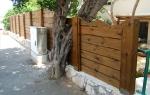 Изграждане на плътни дървени огради