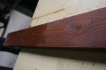 лакирана решетъчна дървена ограда