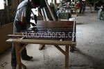 изработка на лакирана решетъчна дървена ограда