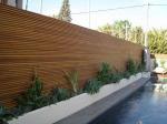 ограда дървена