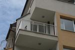 поръчков иноксов парапет за балкони