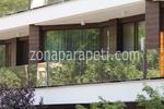 стъклени парапети за тераси по поръчка