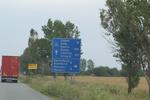 изработка на пътни знаци за указване на направления, посоки, обекти и други