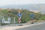 изработване на пътни знаци със задължителни предписания