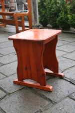 изработка на битов дървен стол