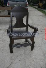 дървен стол за механа и кръчма