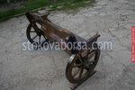 дървена пейка за механа или кръчма