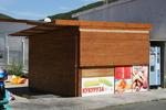 Изработка на будки от дървен материал по клиентски проект