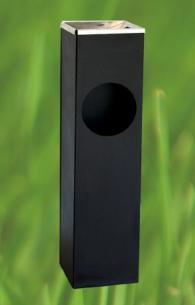 Стоящ пепелник с размери 130х190х600мм
