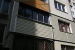 сайдинг изолация на жилищен блок