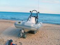 Високоскоростна лебедка за яхти и докове