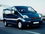 Извършване на трансфер с Opel Vivaro до аерогара Варна
