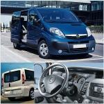 Осигуряване на трансфери Opel Vivaro до аерогара Пловдив
