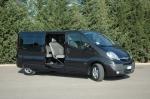 Извършване на трансфери Opel Vivaro до аерогара Пловдив