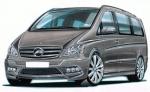 Наемане на бусове Mercedes-Benz Viano за 5 часа