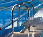 иноксова стълба за басейн