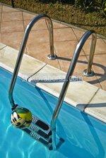стълба за басейн от инокс