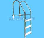 иноксова стълба за басейн по поръчка