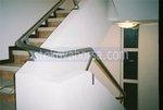 парапет стълбищен иноксов