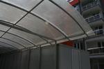 поликарбонатни навеси за подземни гаражи по поръчка