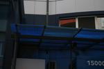 плоските поликарбонатни навеси