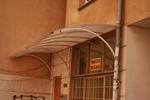фирма за навес от поликарбонат за жилищен вход