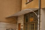 поликарбонатни навеси за жилищен вход по поръчка