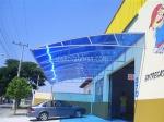 изграждане на поликарбонатни навеси за автомобили