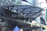 изграждане на навеси от поликарбонат за обществени сгради