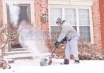 Снегопочисване със снегорин