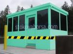 Проектиране и изработка на охранителни кабини над 10кв.м.