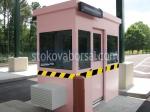 Охранителни бутки за КПП до 4кв.м.