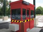 Изработка на охранителни кабини за контролно пропускателни пунктове до 4кв.м.