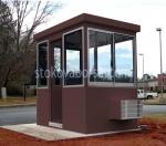Изработка на охранителни кабини за КПП до 4кв.м.