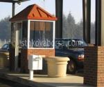 Изработка на тухлени охранителни кабини за контролно пропускателни пунктове