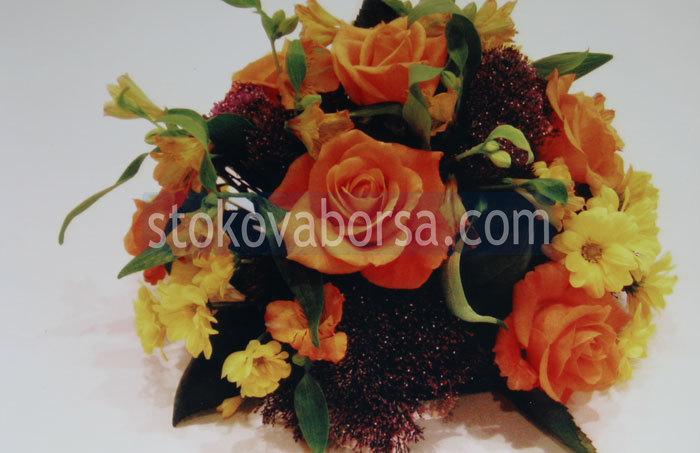 декорация на тържества с цветя
