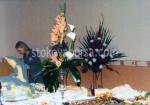 декорация на тържества с естествени цветя