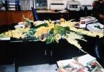 декорация с естествени цветя