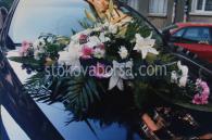 Украса на коли с цветя