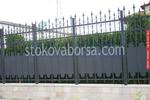 изработка на плътна кована ограда по поръчка